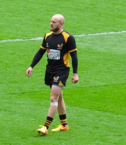 April Premiership Player of the month Joe Simpson