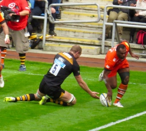 A try is scored