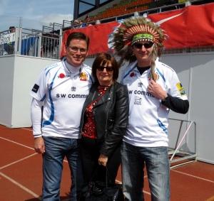 Suey, Tracey & Colin